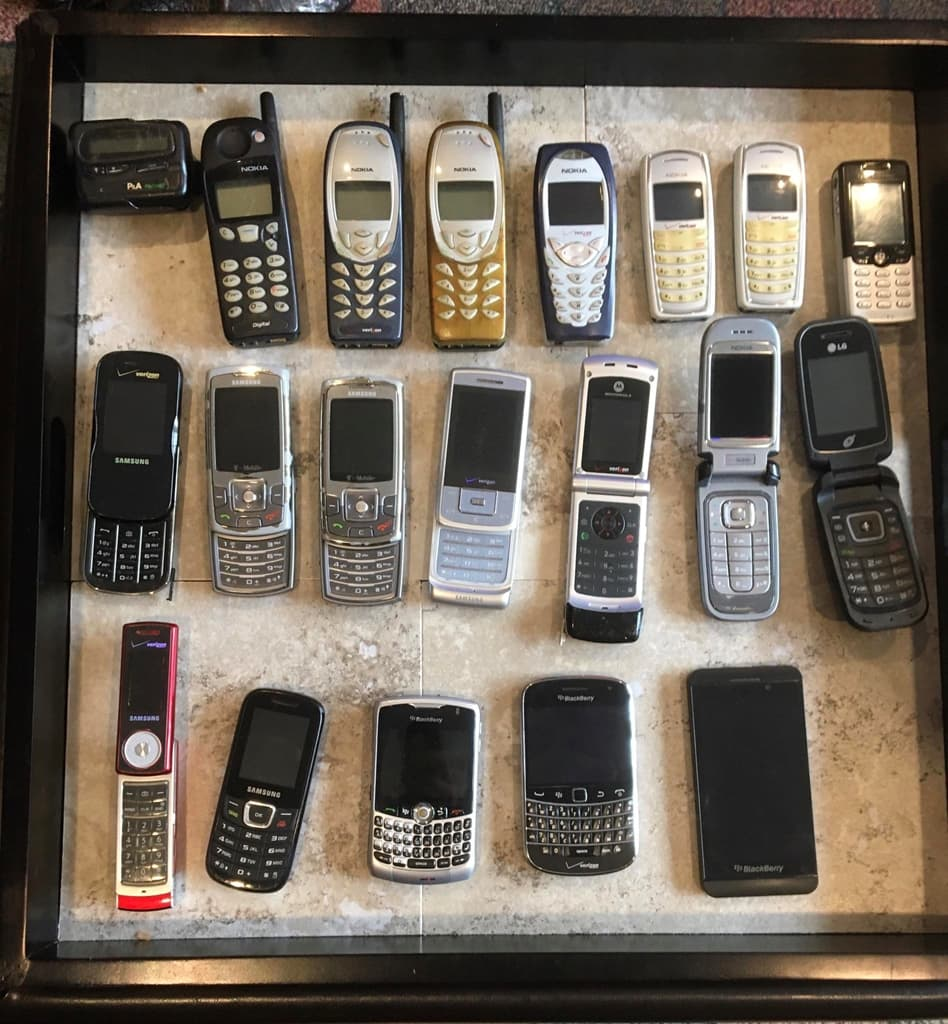 Неплохая подборка сотовых телефонов