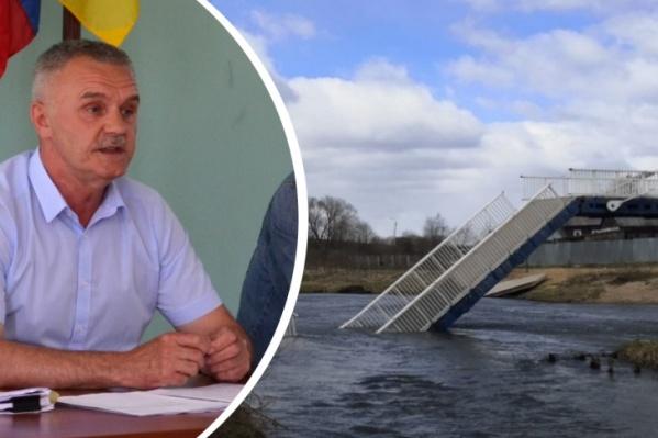 Владимир Попов назвал свою версию обрушения моста<br>
