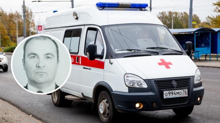 Стало плохо после смены: в Ярославле умер врач скорой помощи