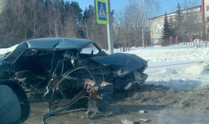«Там никто не стоял»: появилось видео ДТП на Одоевского с угнанным «Фордом», где погибла девушка