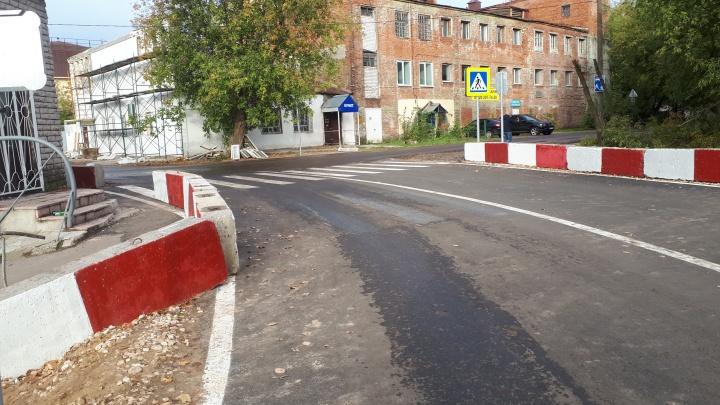 Дублер улицы Циолковского открыли для проезда