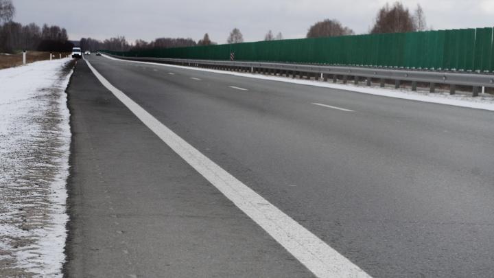 Выезд из Челябинска перекроют из-за строительства надземного пешеходного перехода