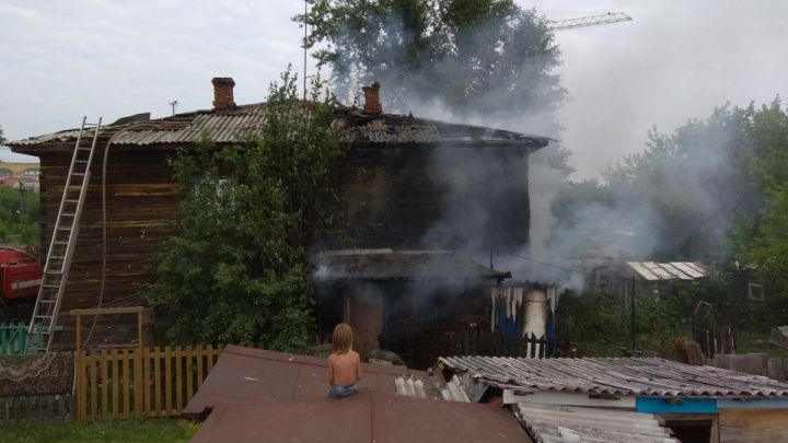 Пострадавшая в утреннем пожаре тюменка скончалась