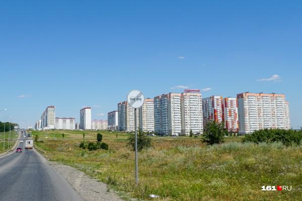 Микрорайон Суворовский начали строить в 2012 году