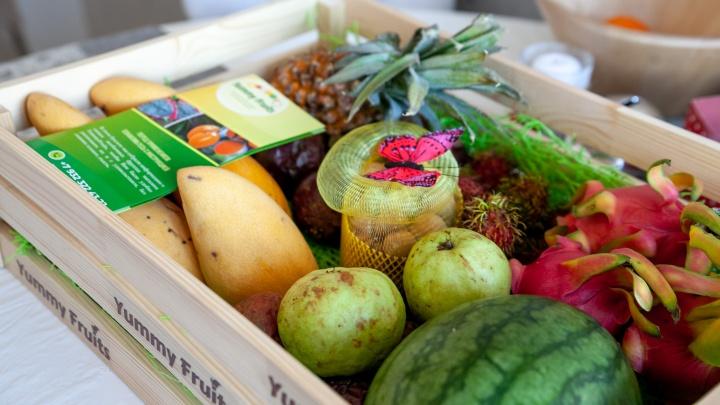 В тёплые страны не выходя из дома: служба Yummy Fruits доставит фрукты прямо из Таиланда