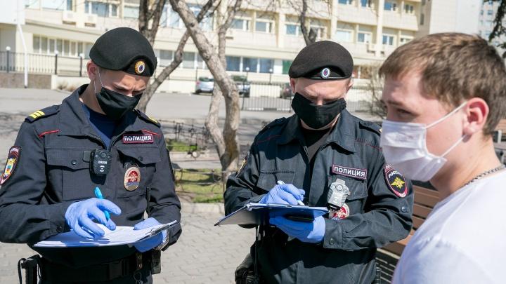 Полицейские Самарской области составили 130 протоколов на нарушителей режима самоизоляции