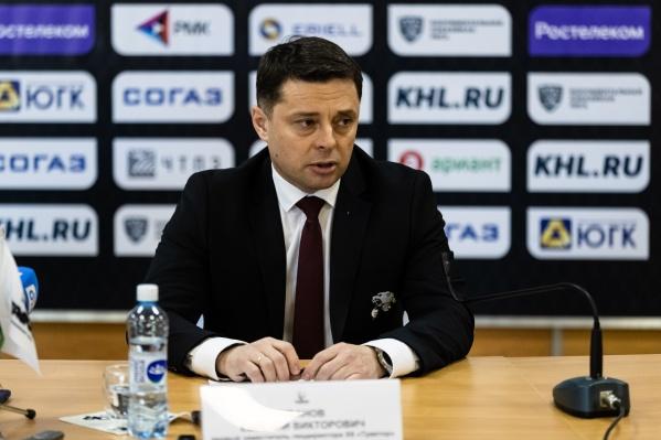 Евгений Иванов признал, что провал «Трактора» в сезоне — ошибка менеджмента