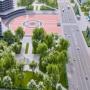 Двухцветная плитка и светодиодные торшеры: в Ярославле преобразят сквер на площади Труда