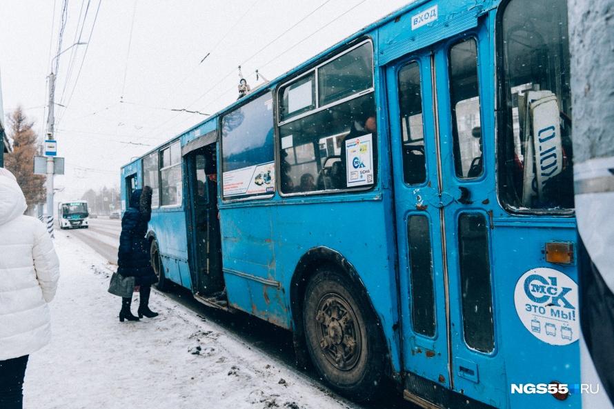 Троллейбусы в Омске могли бы ездить намного быстрее