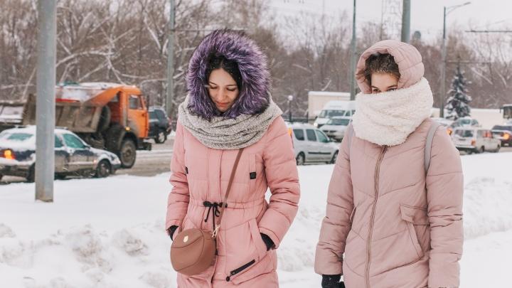 «Не мажьте лицо кремом»: синоптики предупредили об аномальных холодах в Самарской области