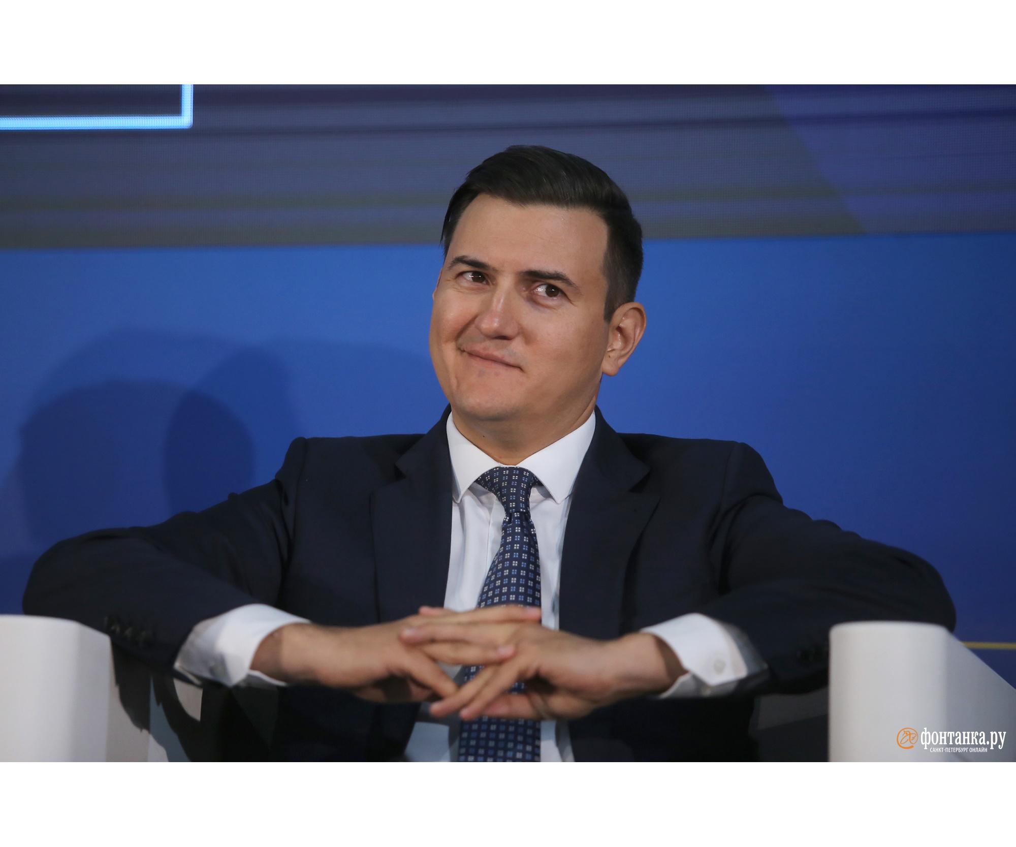 Генеральный директор АО «ИТМО Хайпарк» Александр Назаров