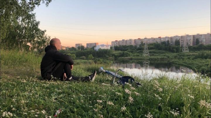 «В такую жару ехать невыносимо»: парень из Нижнего Тагила отправился в Сочи на велосипеде