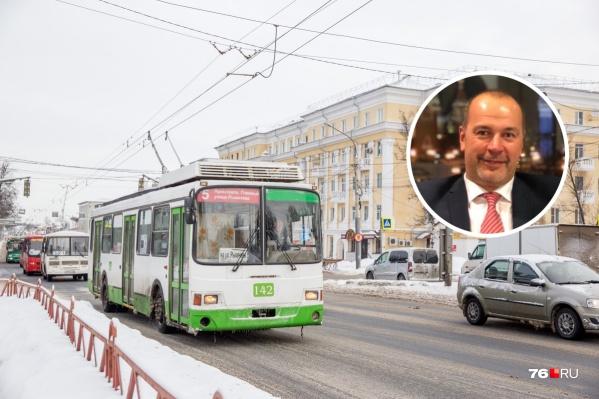 Депутат Госдумы Илья Осипов заступился за ярославский троллейбус