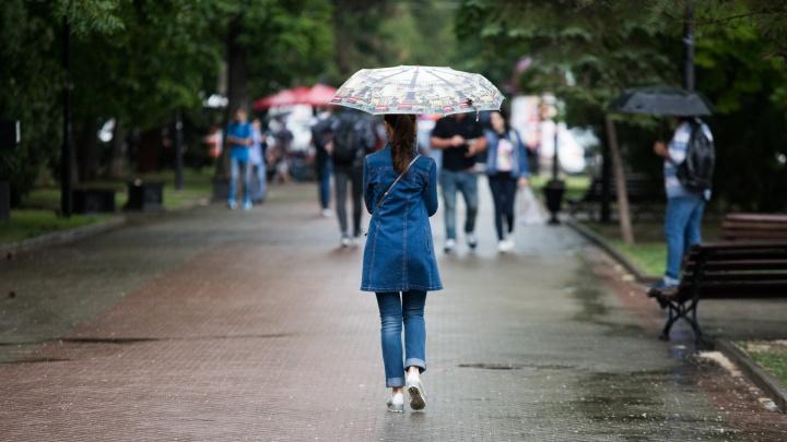 Ограничения смягчаются, а дожди продолжаются: рассказываем о погоде в Ростове на этой неделе