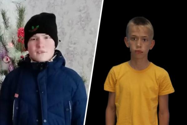 Слева — Алексей Янтураев, 13 лет, справа —Виталий Бычков, 14 лет