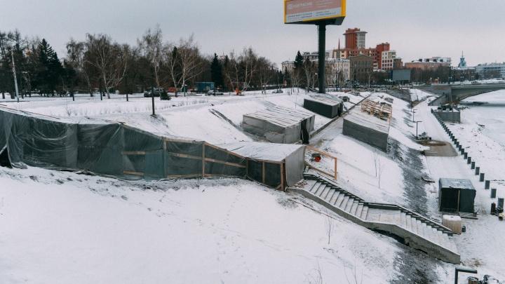 1000 и 1 отговорка: в каких точках Омска всё еще не закончили благоустройство