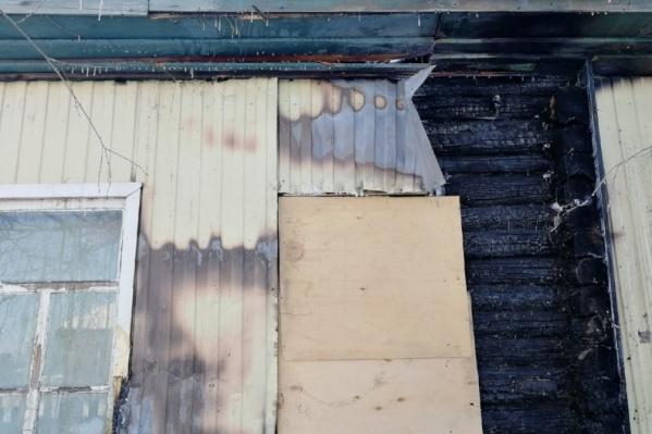 Пожар случился 2 декабря в Макушино
