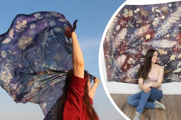 Мария&nbsp;вдохновляется природой и переносит свои впечатления на холст<br>