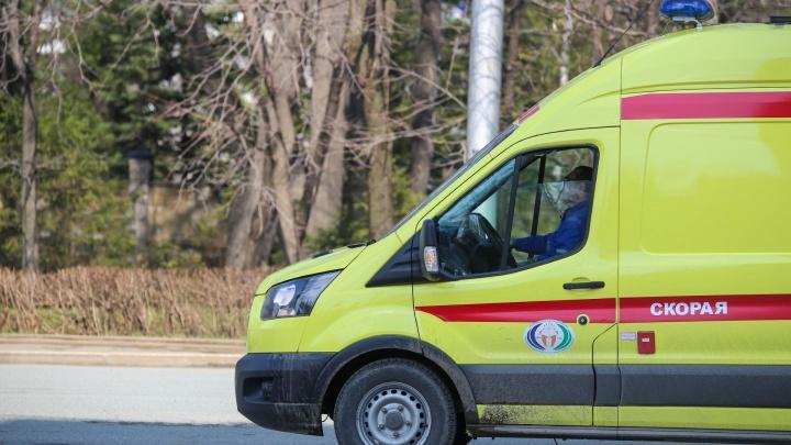 В Башкирии водитель иномарки выстрелил прохожему в живот