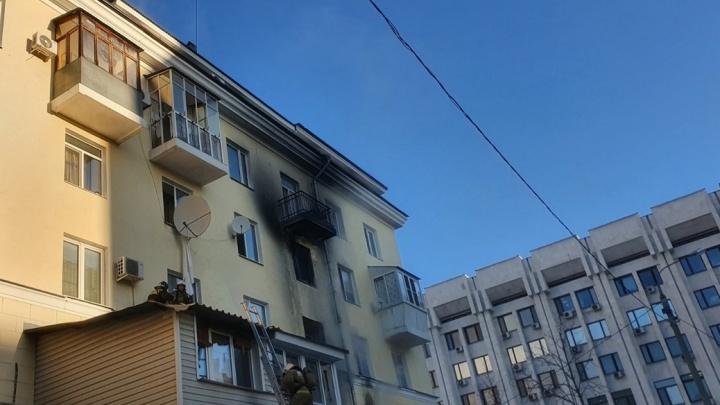Названа причина пожара у здания правительства в Самарской области