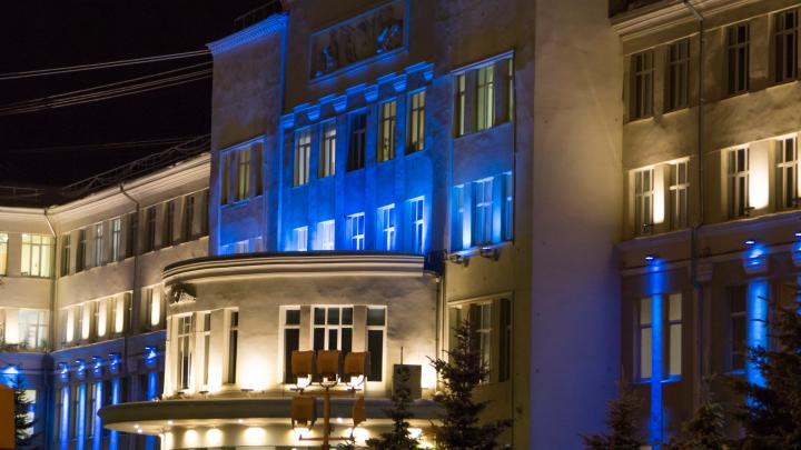 Осенью в центре Архангельска появится новая подсветка зданий