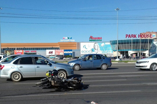 Авария произошла в Центральном районе автограда