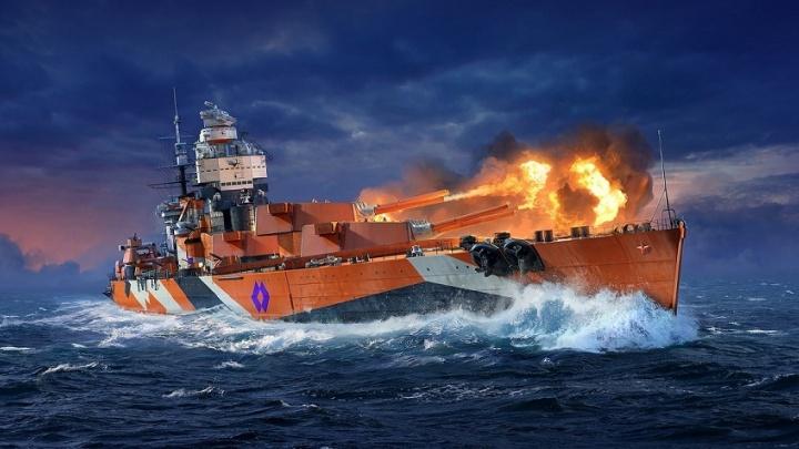 Любители морских битв онлайн получат новый линкор «В. И. Ленин» бесплатно