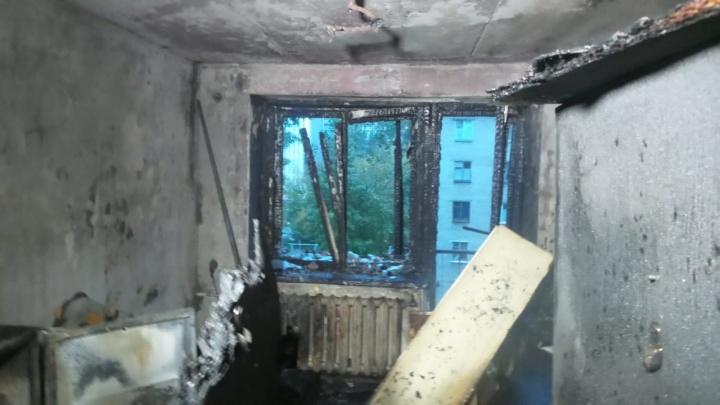 На Сортировке произошел пожар в жилом доме. Есть пострадавший