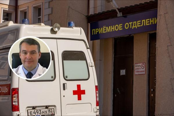 Главврач дивногорской больницы заверил, что все медики обеспечены средствами защиты