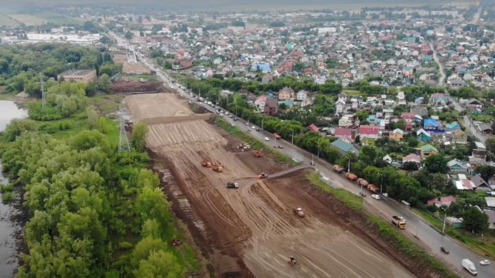 От дороги до автострады: смотрим, как в Самаре расширяют улицу Шоссейную