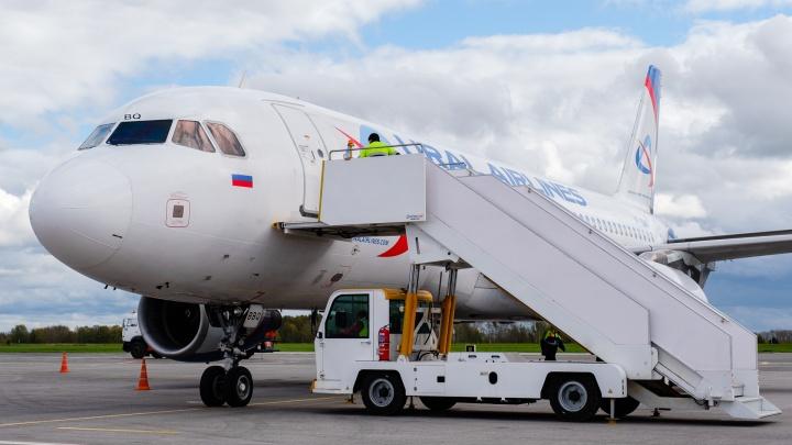Телетрапы в пермском аэропорту заработают в октябре