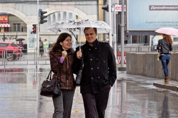 В среду и четверг синоптики обещают осадки в виде дождя и мокрого снега