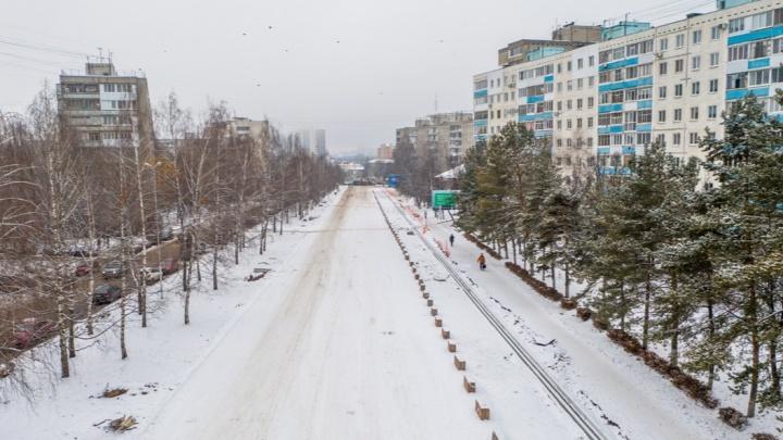В Уфе частично открыли улицу Комсомольскую