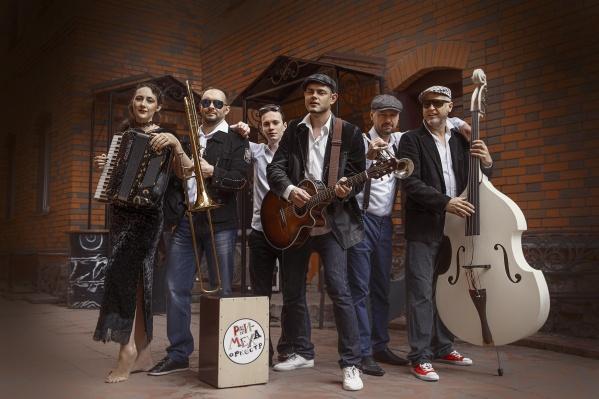 Новосибирские музыканты из группы «Рви Меха Оркестр» записали песню-шутку на тему коронавируса