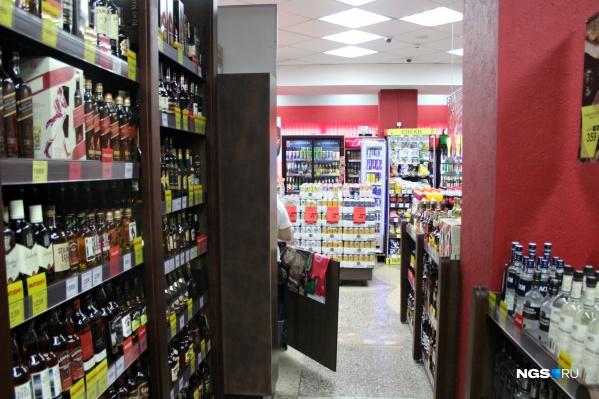 В Новосибирске настоящий бум алкомаркетов