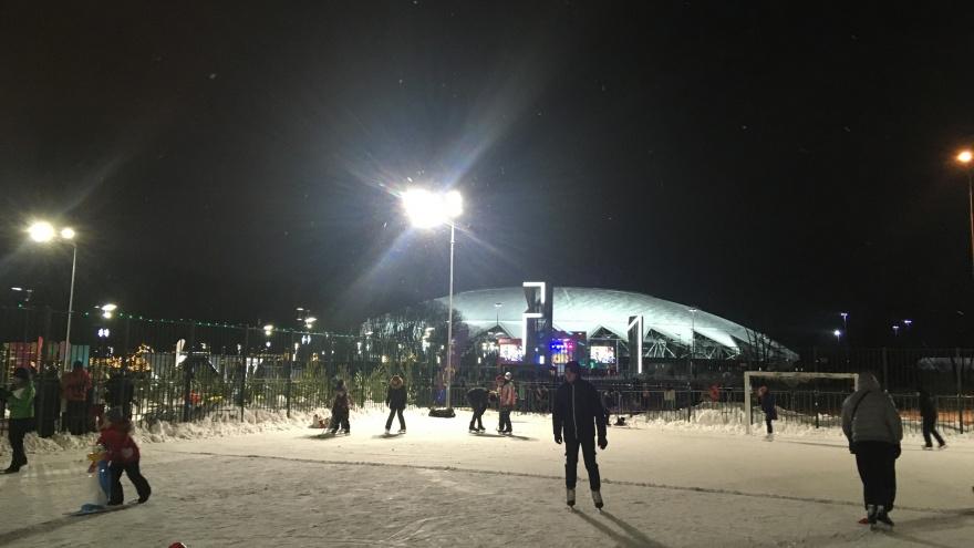 Около стадиона «Самара Арена» построят волнистую трассу для велосипедистов