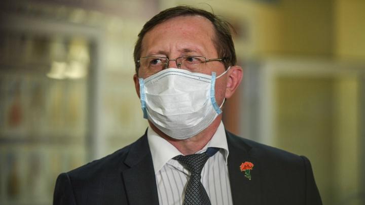 Вице-губернатор предсказал рост числа больных COVID-19 в Свердловской области