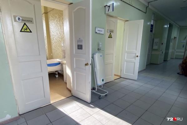 Моногоспитали в Тюмени пока способны принимать больных