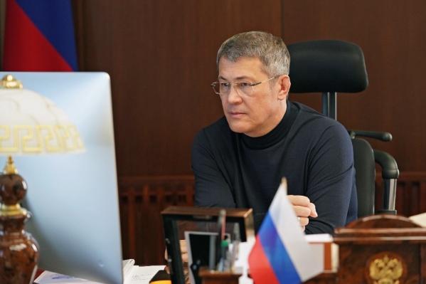 Радий Хабиров решил ужесточить ограничительные по коронавирусу