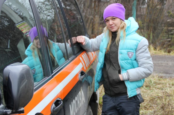 Ольга искала грибников, когда наткнулась на медведя
