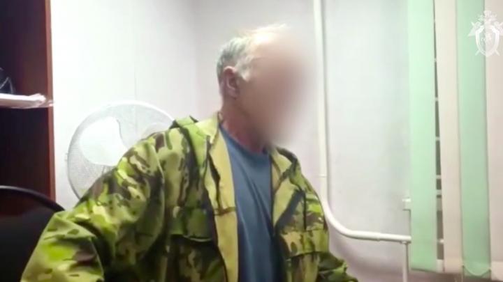 Следователи показали мужчину, задержанного по подозрению в поджоге наркоклиники