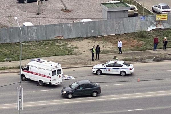 От полученных травм мужчина погиб на месте ДТП