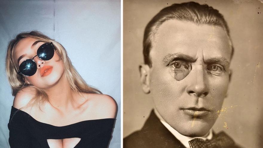 Сексуальная сибирячка называет себя правнучкой Михаила Булгакова. Кем приходится красотка известному писателю?