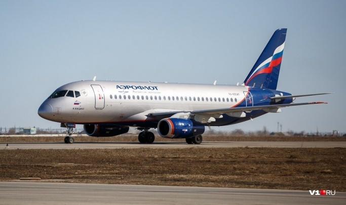 В Волгограде на час задерживается прилет рейса из Москвы