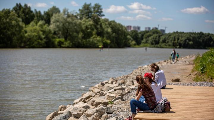 В Новосибирске начали строить новую городскую набережную — она пройдёт вдоль «Европейского берега»