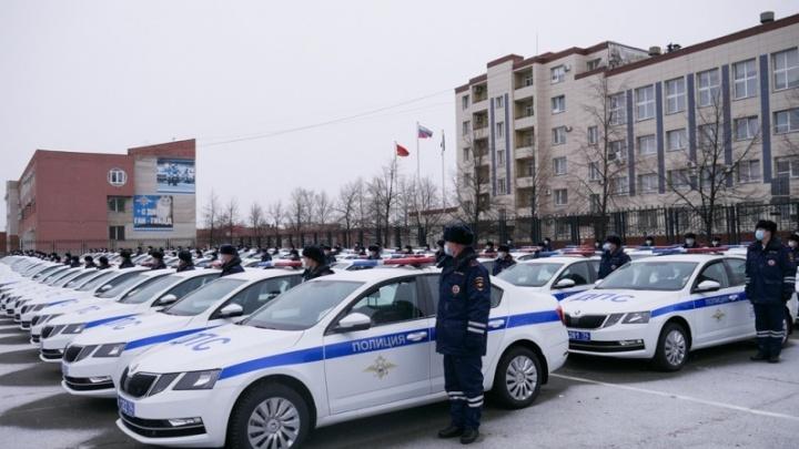 Челябинским полицейским в профессиональный праздник вручили почти сотню дорогих иномарок