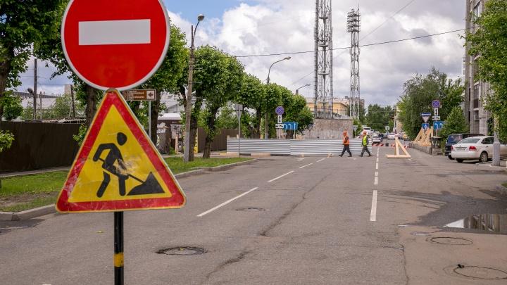 С первого дня лета перекрывают улицу в центре Красноярска и меняют схему движения автобусов