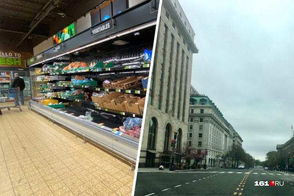 Пустые полки в супермаркетах заполнили продуктами, но теперь на них ажиотажа нет