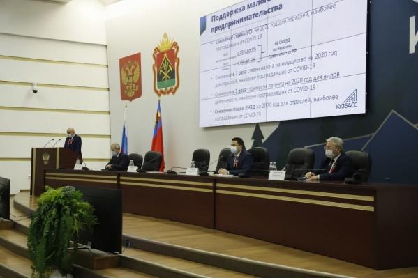 Губернатор заявил, что в Кузбассе темпы строительства были даже увеличены, несмотря на коронавирус