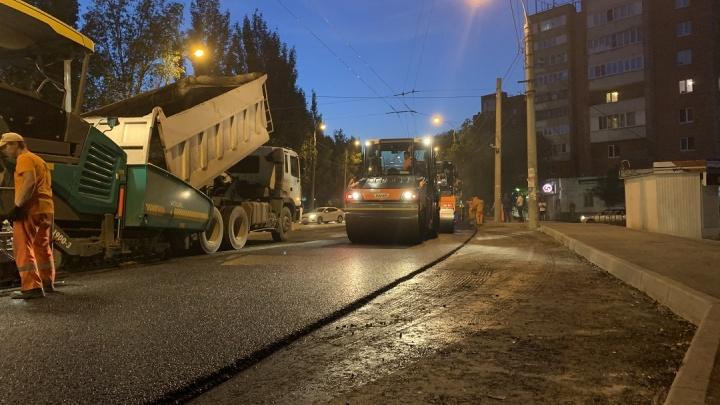 На улице Стара-Загора расширят дорогу и сделают новые парковки